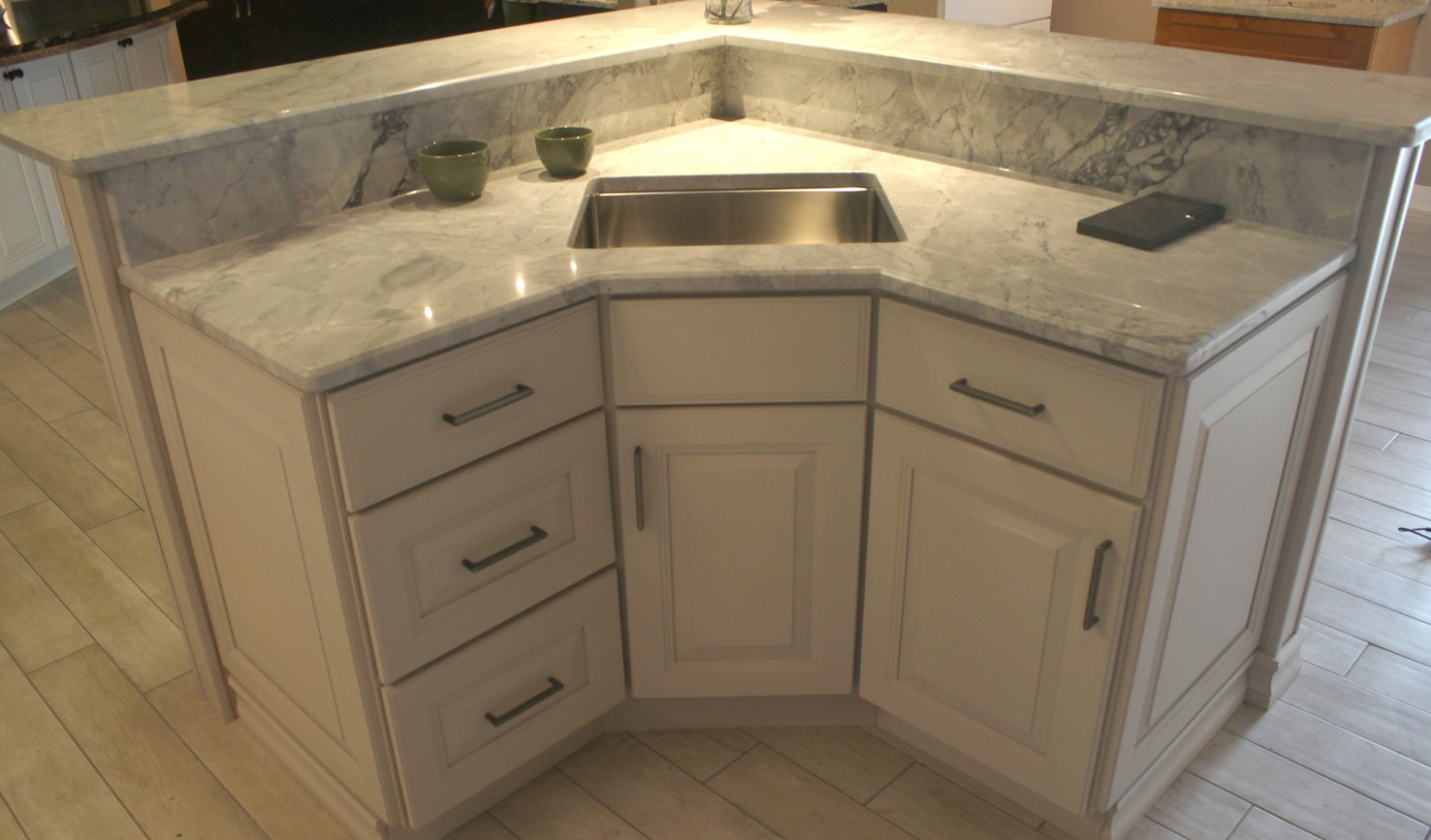 Niles Kitchen Cabinets, Sinks and Countertops — Rock Counter - Kitchen Cabinets Niles