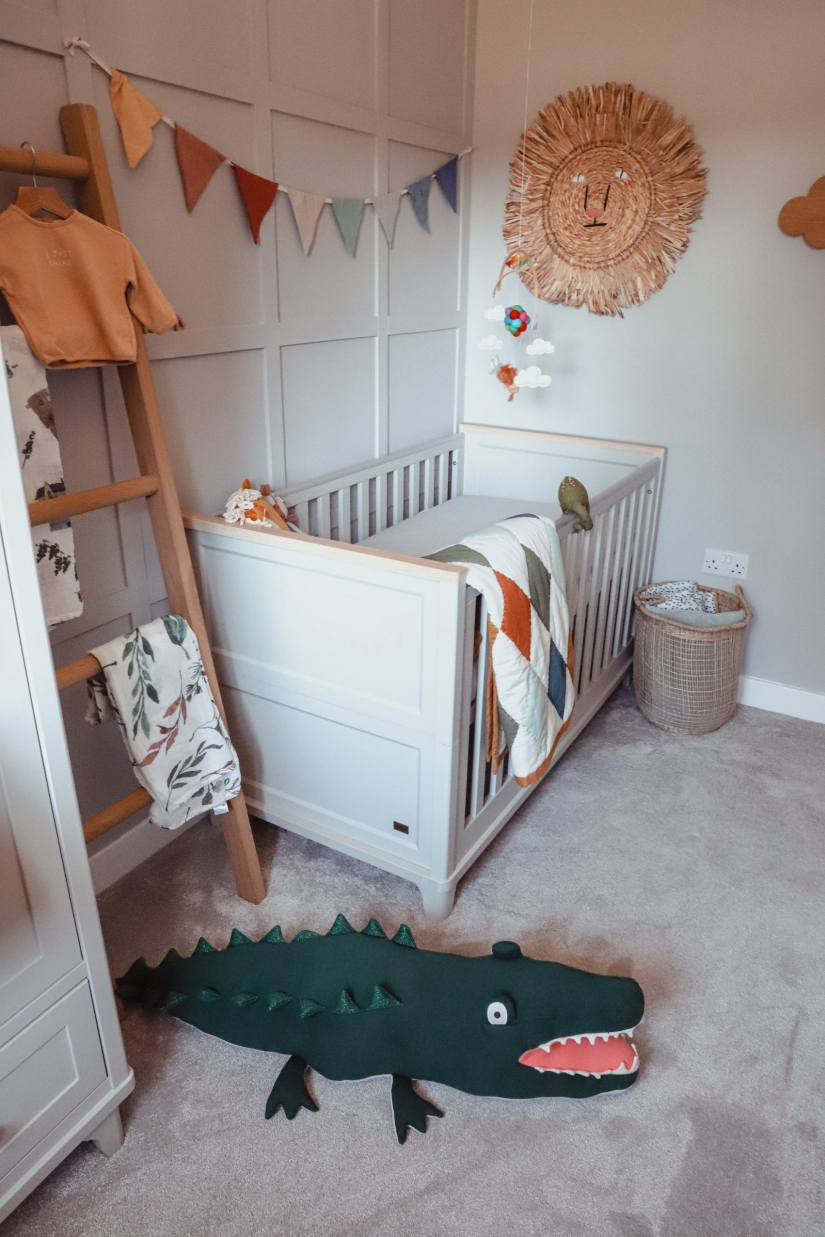 Nursery - A Scandi Inspired Space - Within these walls - Baby Room Jem