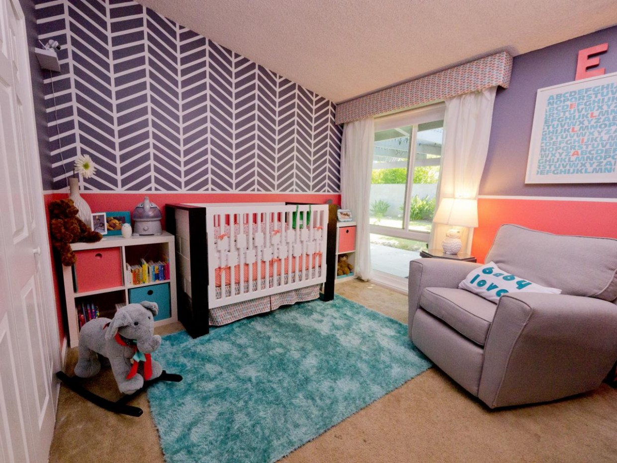 Nursery and Baby Room Colors: Pictures, Options & Ideas  HGTV - Baby Room Wall Painting