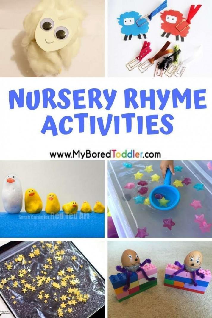 Nursery Rhyme Themed Activities for Toddlers - fun nursery rhyme  - Baby Room Activity Ideas