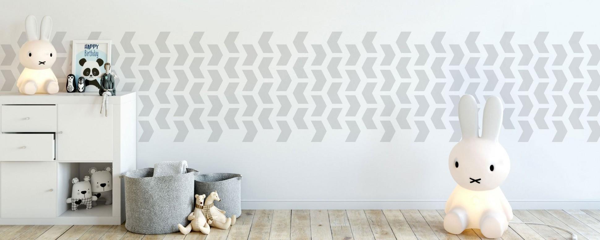 Nursery Stencils for walls and kids room stencils – The Stencil Studio - Baby Room Stencils