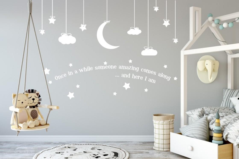 Nursery Sticker, Nursery Wall Decor, Childrens Sticker, Childrens Wall  Decor, Baby Sticker, Baby Room Decor, Nursery Wall Sticker, Nursery Stickers - Baby Room Wall