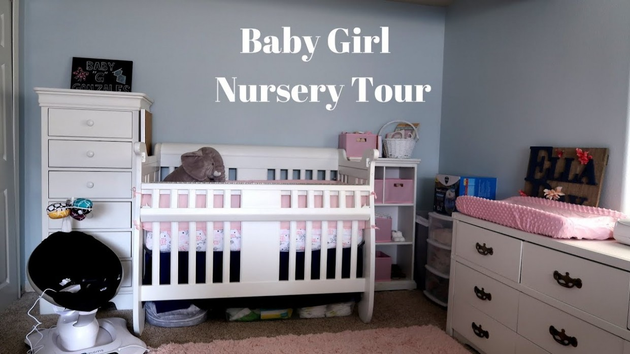 Nursery Tour // Baby Girl - Baby Room Youtube