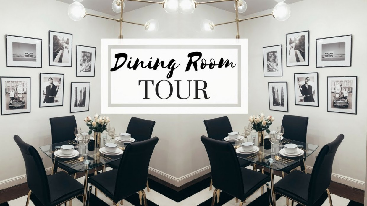 NYC APARTMENT TOUR - THE DINING ROOM  Dining Room Decorating Ideas - Dining Room Ideas Apartment