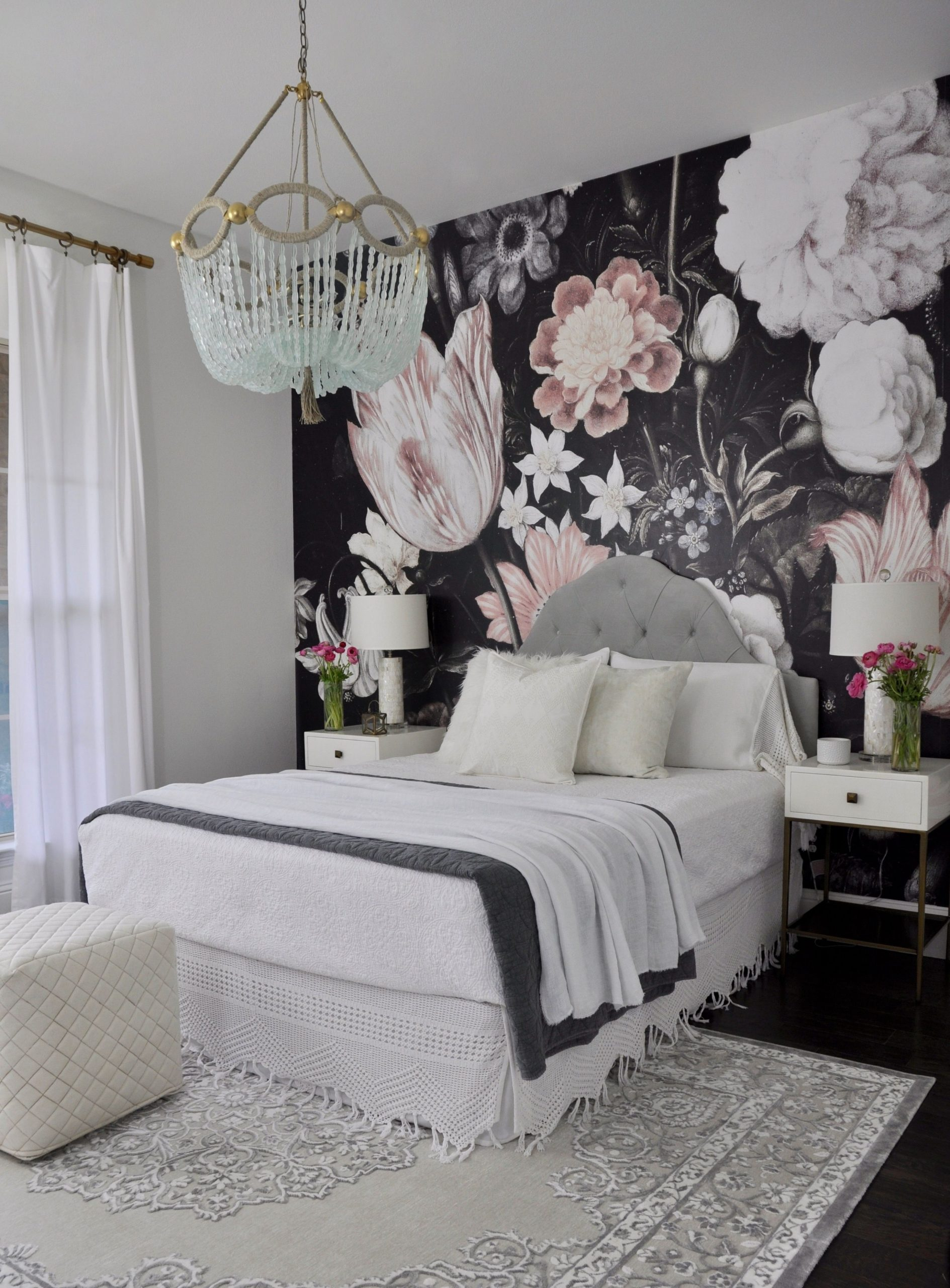One Room Challenge - The Reveal - Decor Gold Designs  Remodel  - Bedroom Ideas Wallpaper