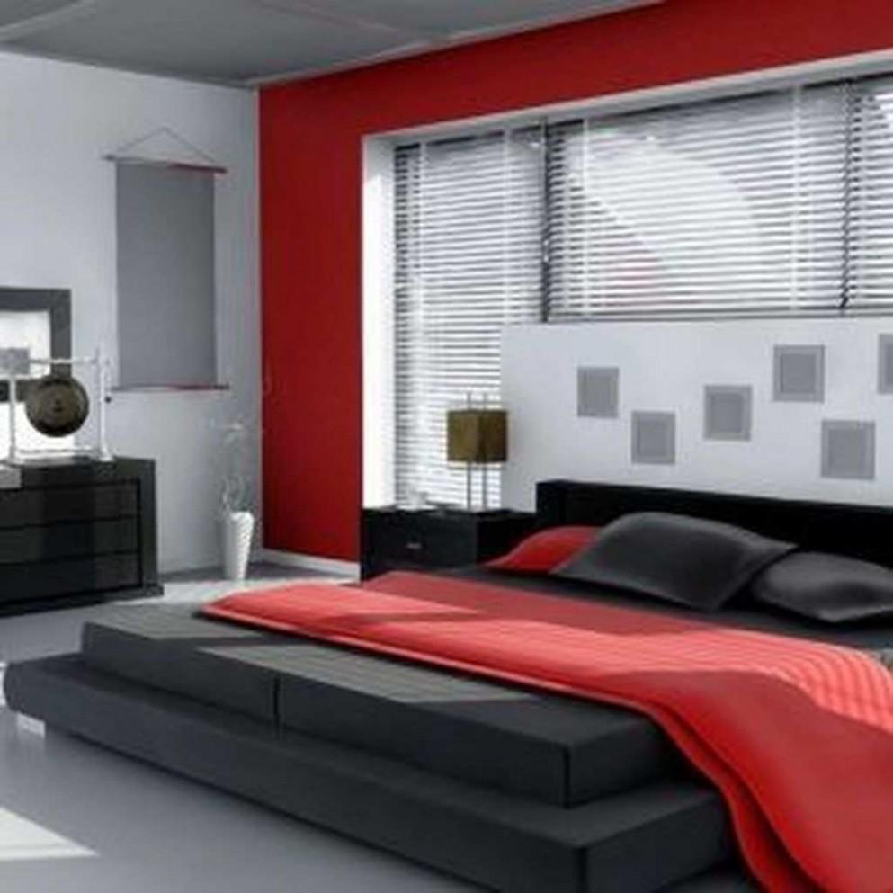 Only Furniture: Innovative Red Black Bedroom Ideas Awesome Red  - Bedroom Ideas Red And Black