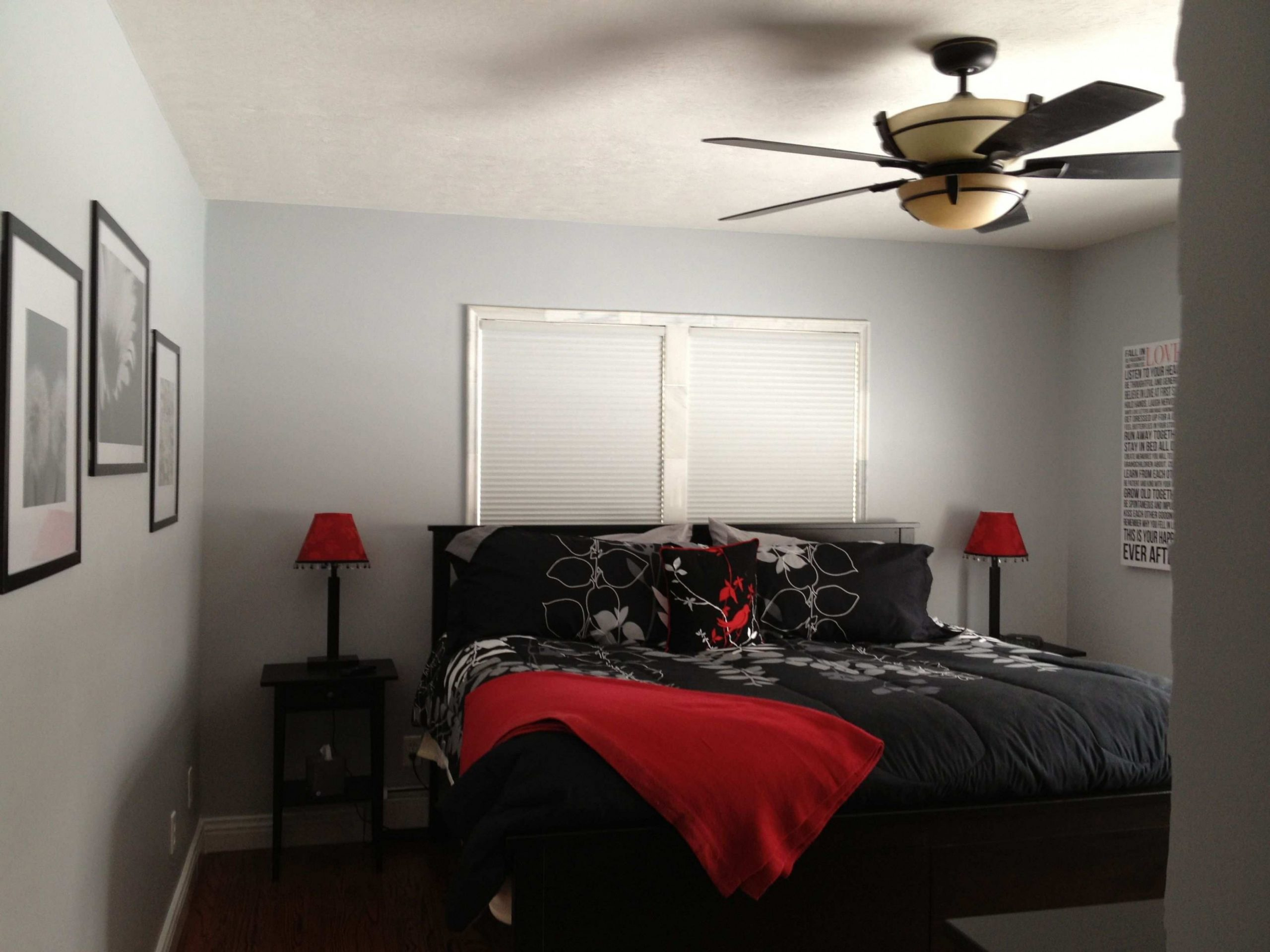 Only Furniture: Terrific Red White Black Bedroom Ideas Bold Black  - Bedroom Ideas Red And Black