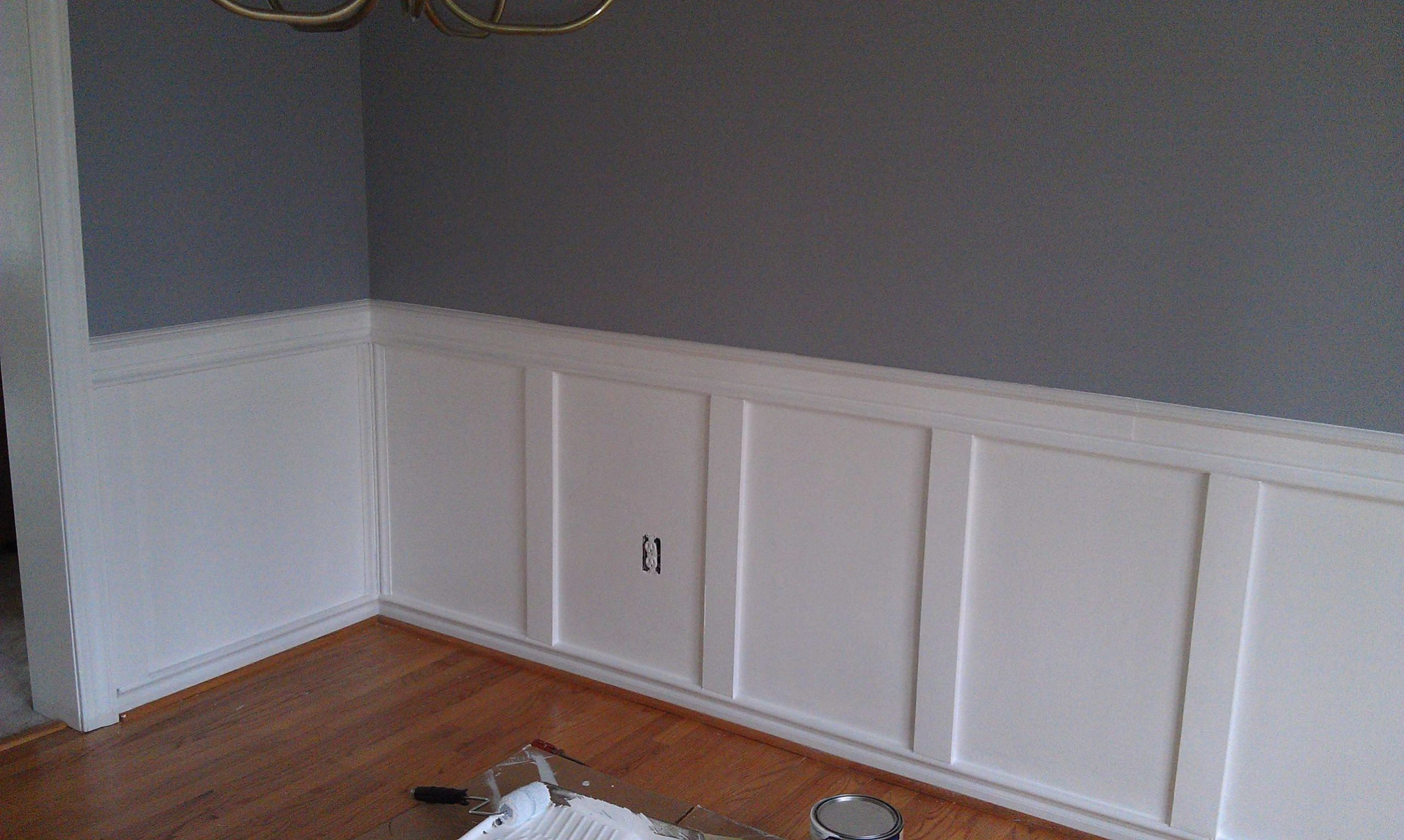 Only Furniture: Wainscot Dining Room Wainscoting Ideas For Dining  - Dining Room Ideas With Wainscoting