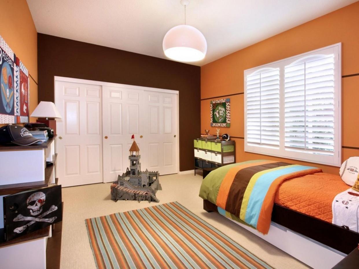 Orange Bedrooms: Pictures, Options & Ideas  HGTV - Bedroom Ideas Orange