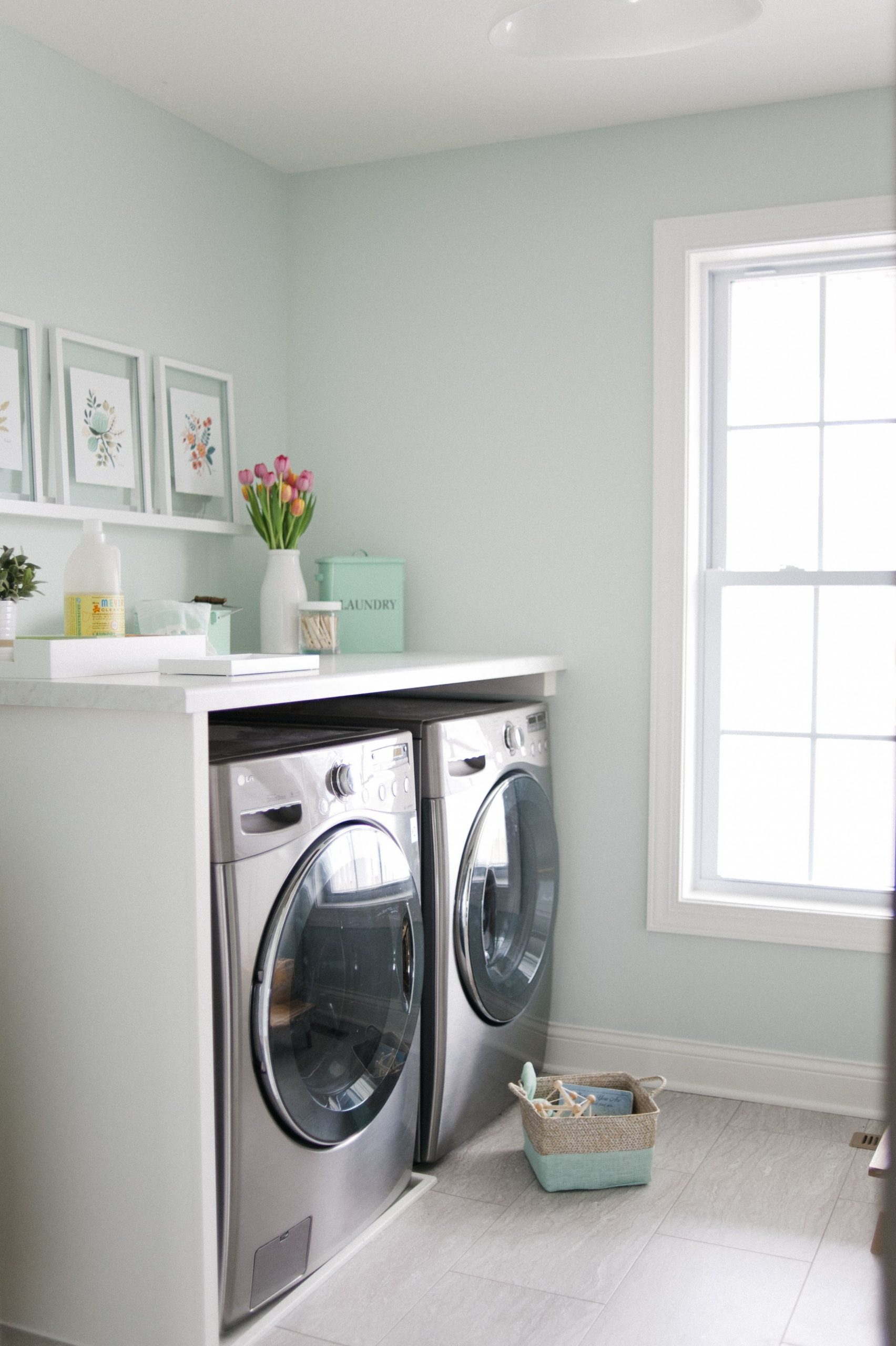 Our dream room makeover  Laundry room colors, Laundry room paint  - Laundry Room Near Bedrooms