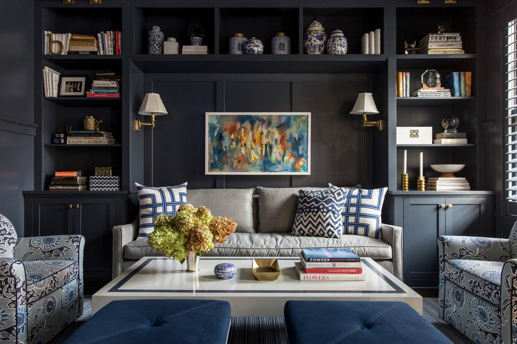 Our Favorite Bookshelf Organizing Ideas  Martha Stewart - Home Office Bookshelf Ideas