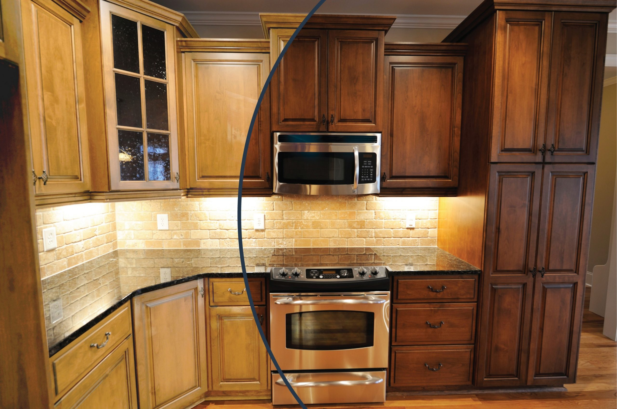 Our Kitchen Reno with N-Hance - Kitchen Cabinet Refacing Niagara Falls