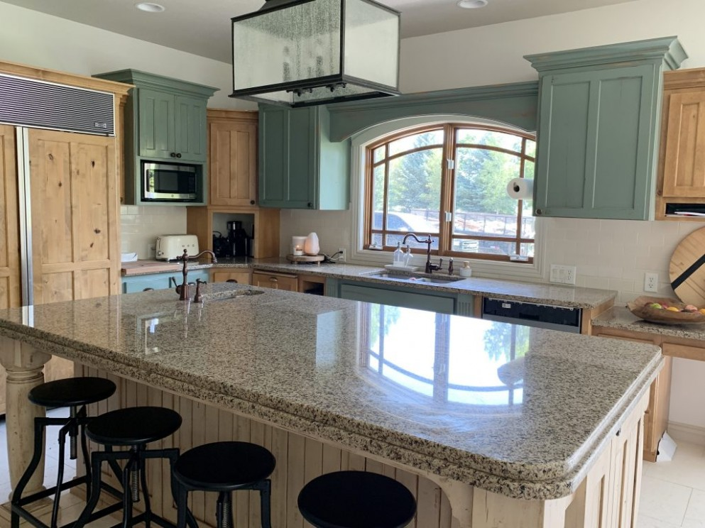 Our Modern Cottage Kitchen Makeover (on the cheap!) - Chris Loves  - Wholesale Kitchen Cabinets And Granite