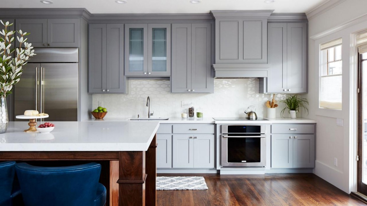 Painting Kitchen Cabinets: Simple Steps and Expert Advice  HGTV - What Paint Sheen To Use On Kitchen Cabinets