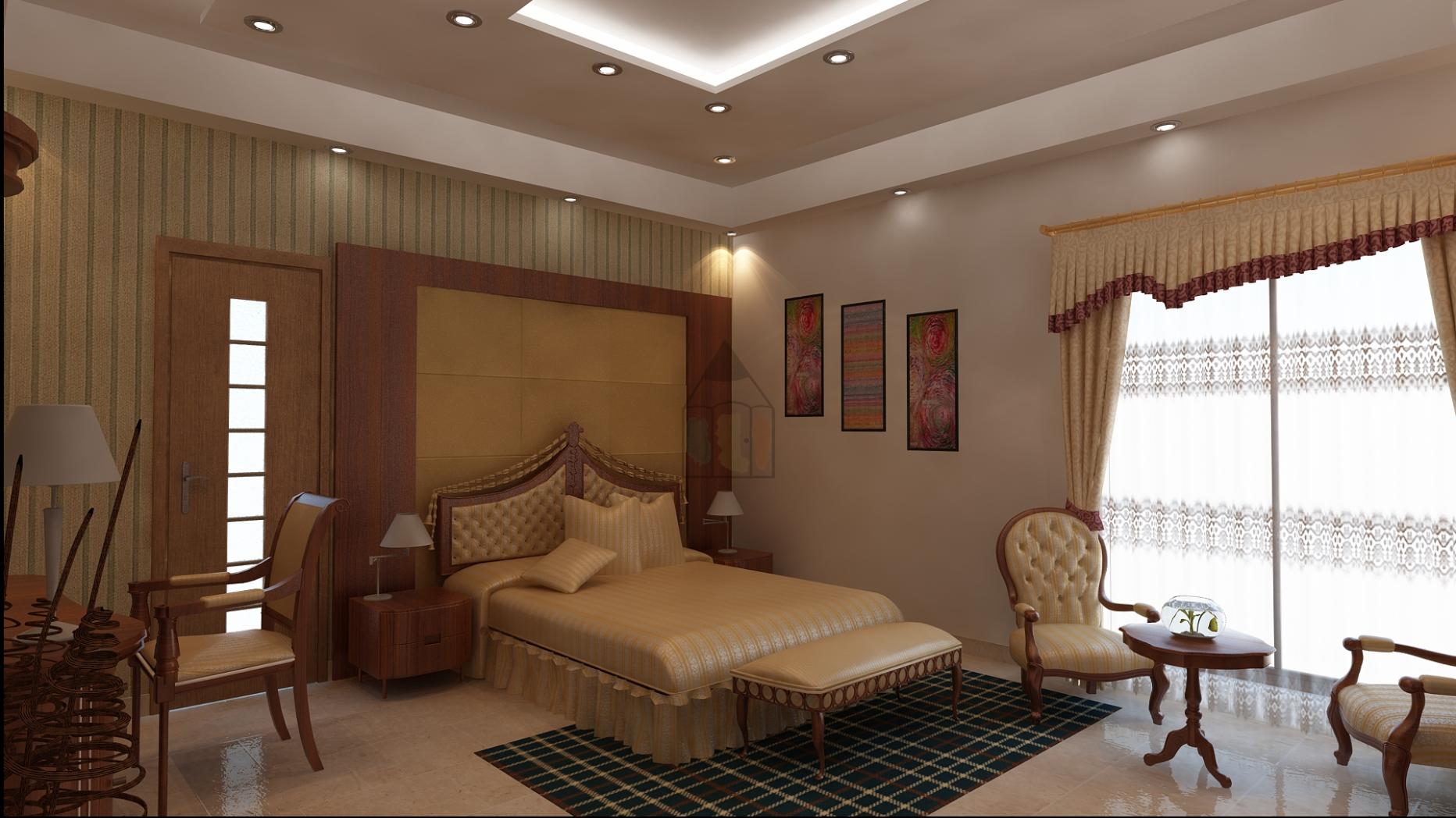Pakistani bedroom design