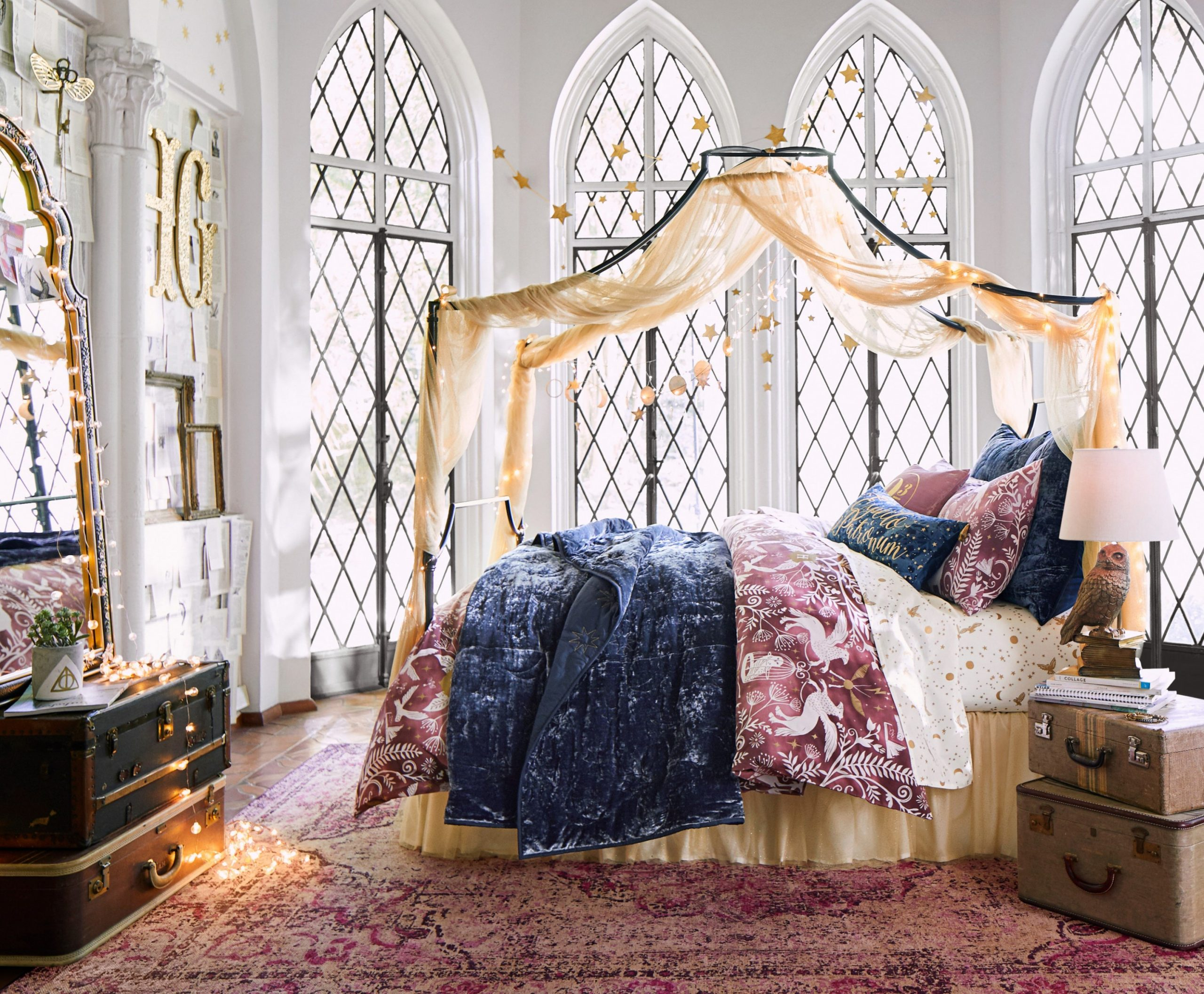 """PBteen Launches """"Harry Potter"""" Decor Collection  Teen Vogue - Bedroom Ideas Harry Potter"""