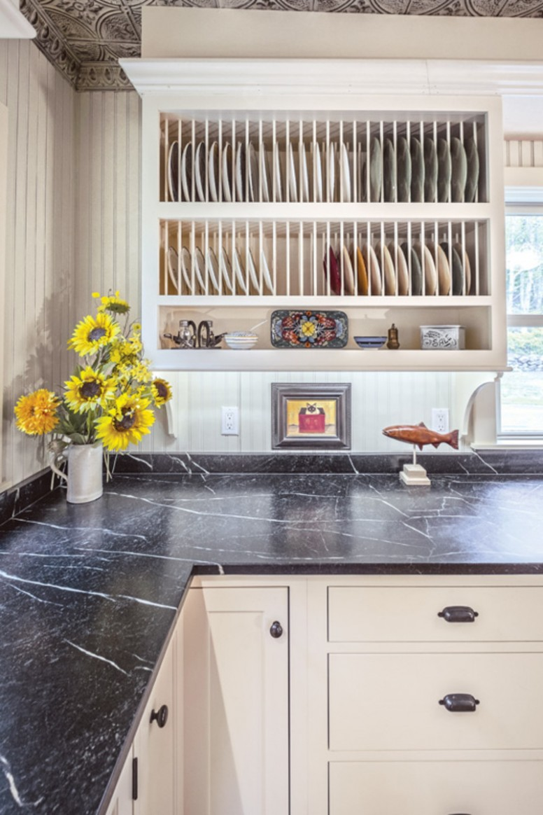 Period-Inspired Cabinetry - Old House Journal Magazine - Bath Maine Kitchen Cabinets