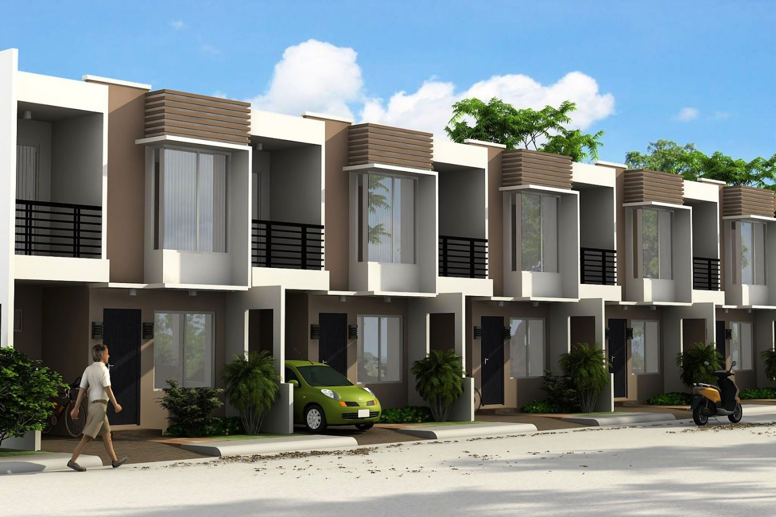 philippines townhouse design - Google Search  Townhouse exterior  - Apartment House Design Philippines