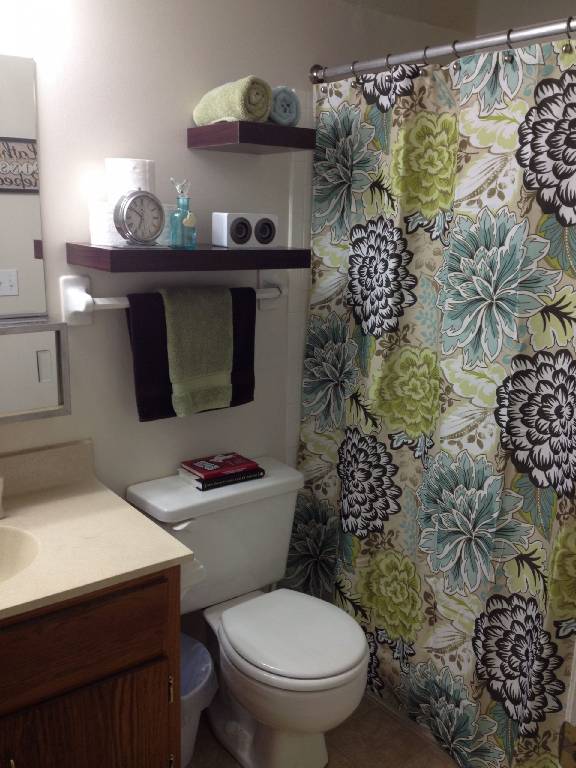 Pin by Ashleigh Young on Apartment Ideas  Small apartment  - Apartment Bathroom Decorating Ideas On A Budget