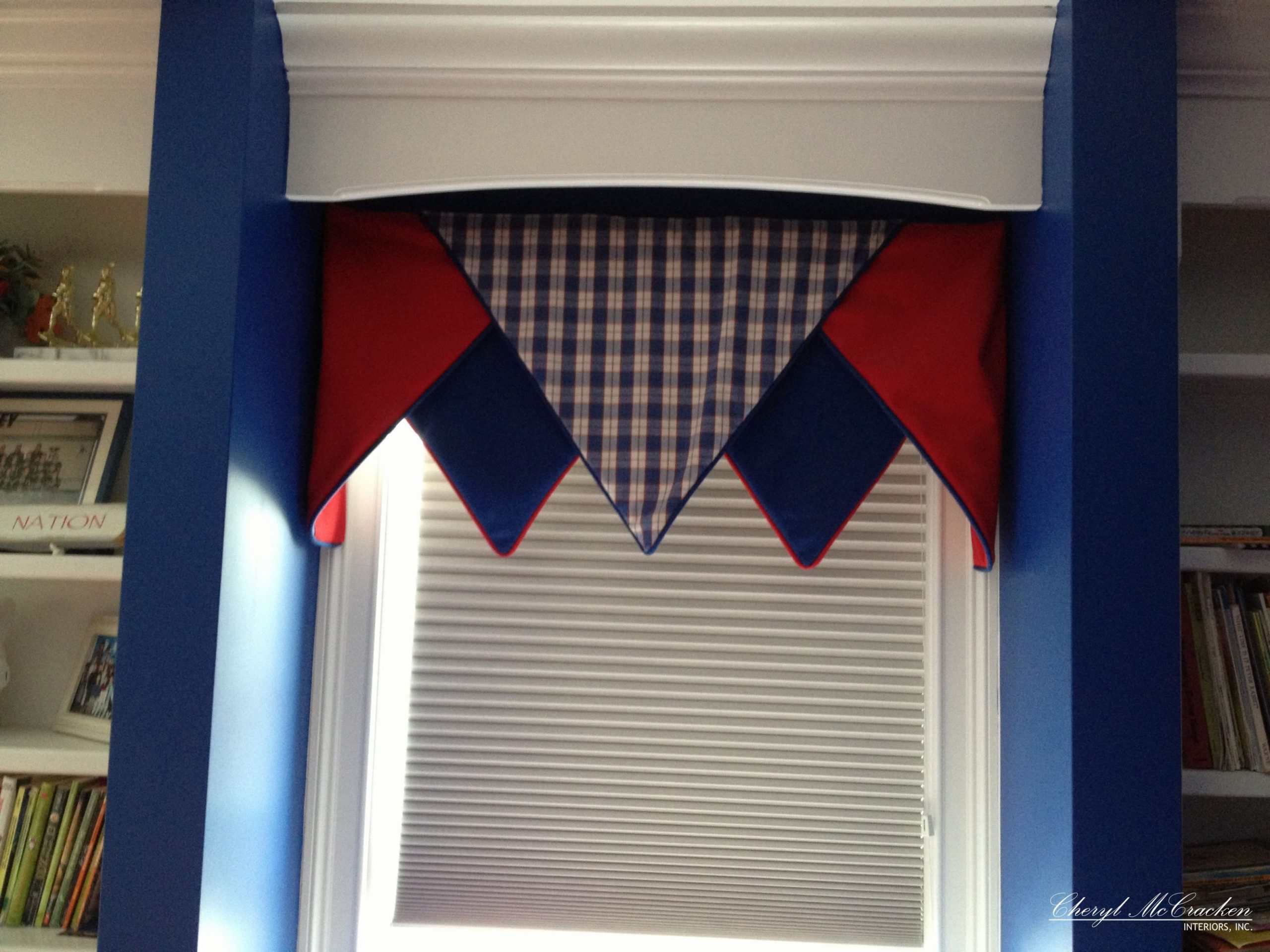 Pin by Cheryl McCracken Interiors, In on WINDOW TREATMENTS  - Window Valance Ideas For Bedroom