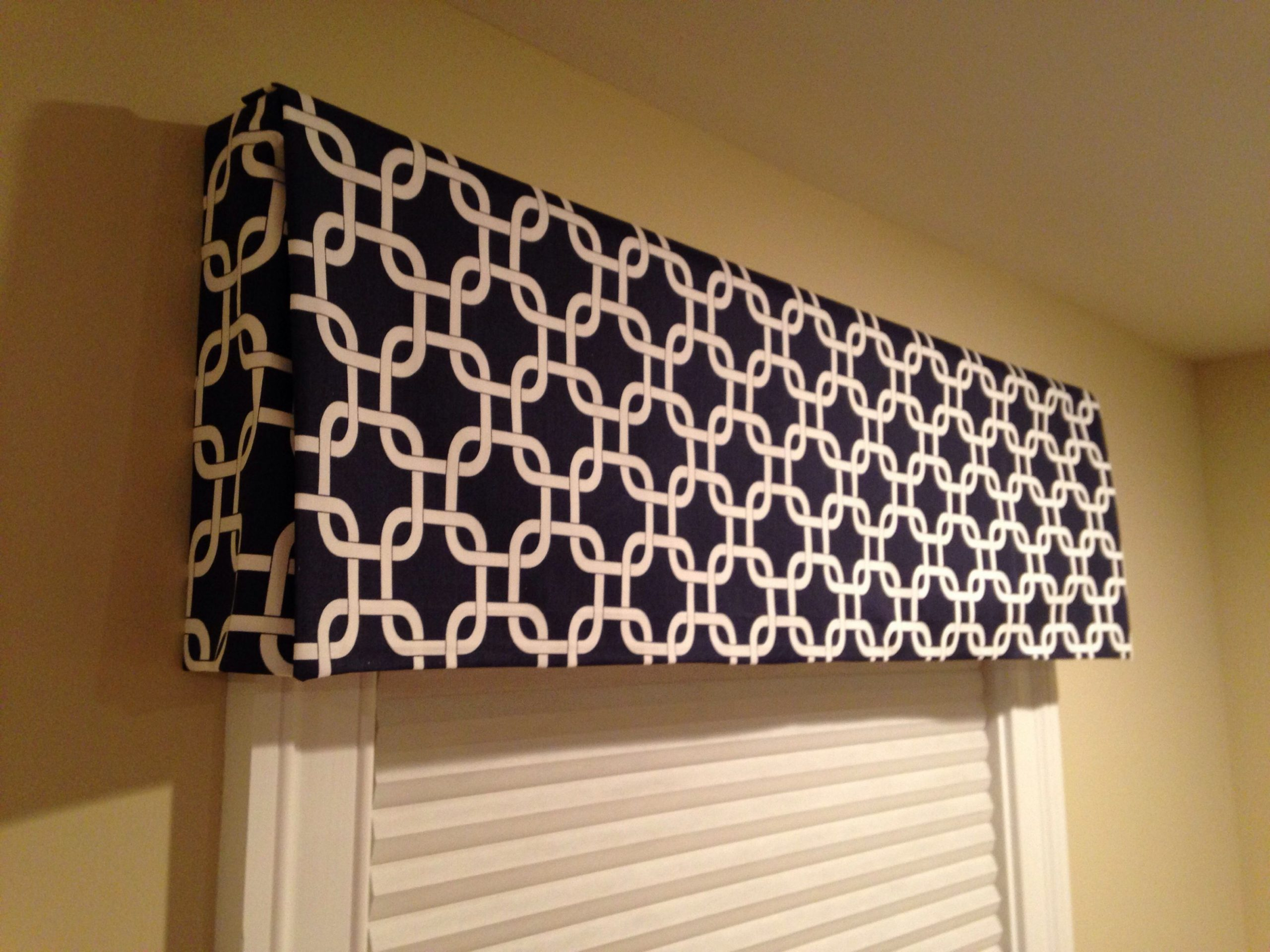 Pin by LQDesign Studio, LLC on Around the House  Diy valance  - Window Valance Ideas For Bedroom