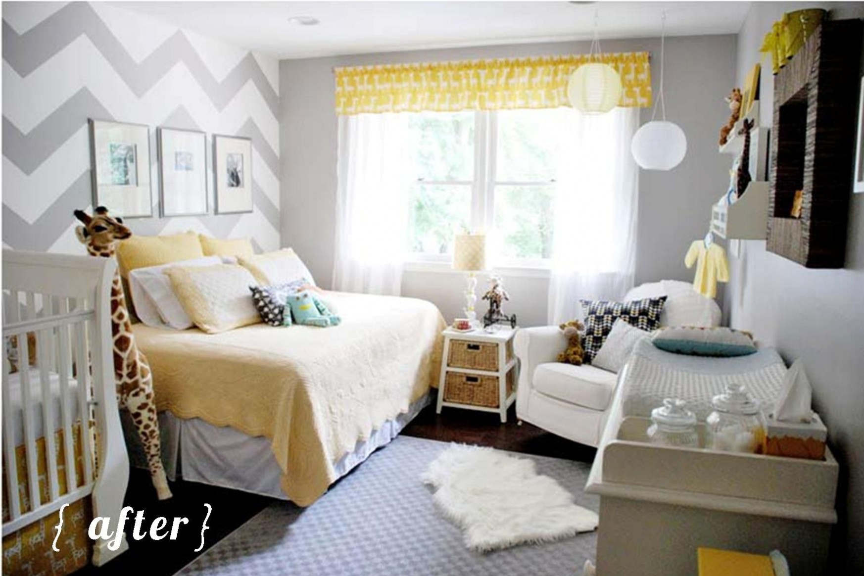 Pin on A nursery someday - Baby Room With Queen Bed