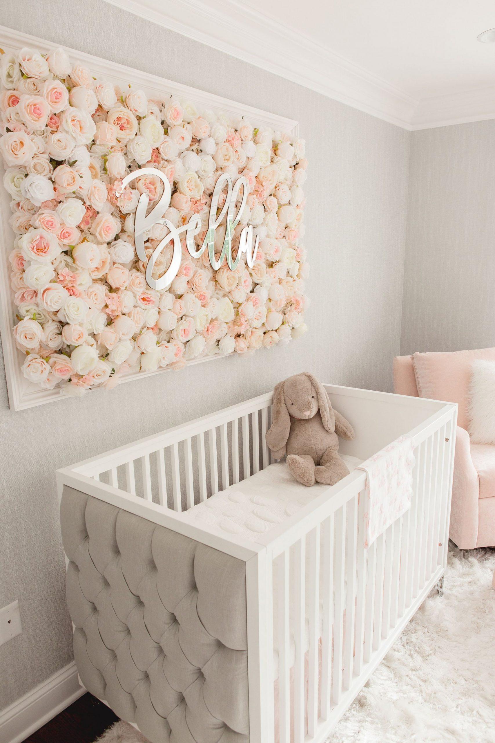 Pin on Baby Girl Nursery Ideas - Baby Room Girl