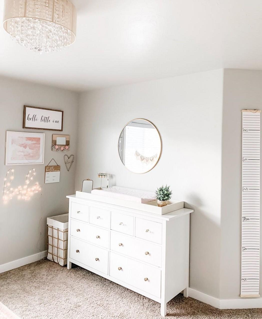 Pin on baby girl nursery ideas - Baby Room Mirror