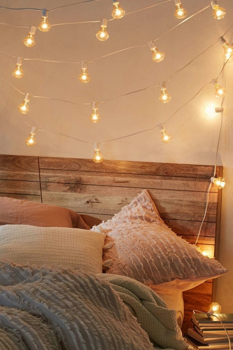 Pin on Christmas - Bedroom Ideas With Lights