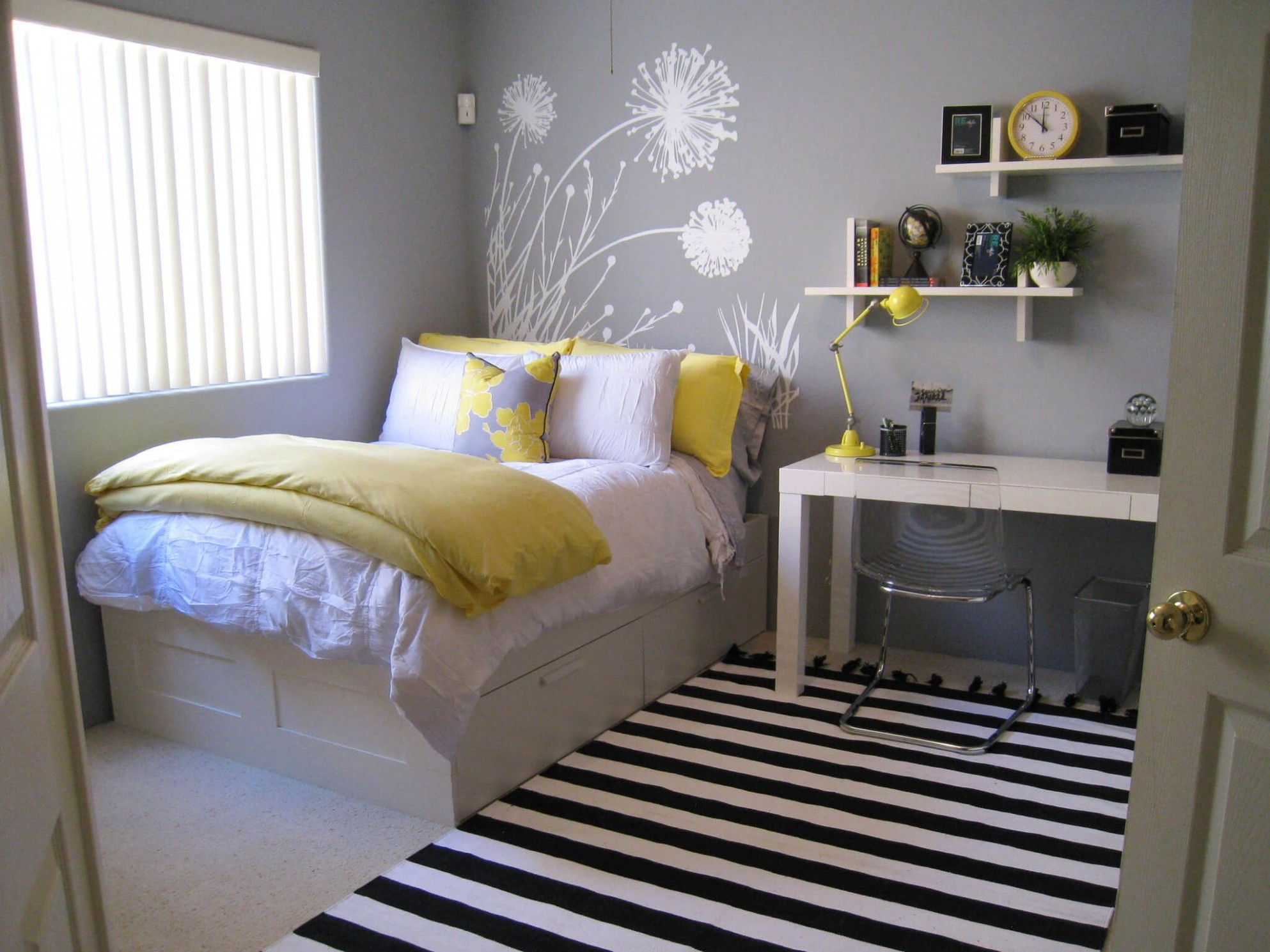 Pin on guestroom - Bedroom Ideas For Small Rooms