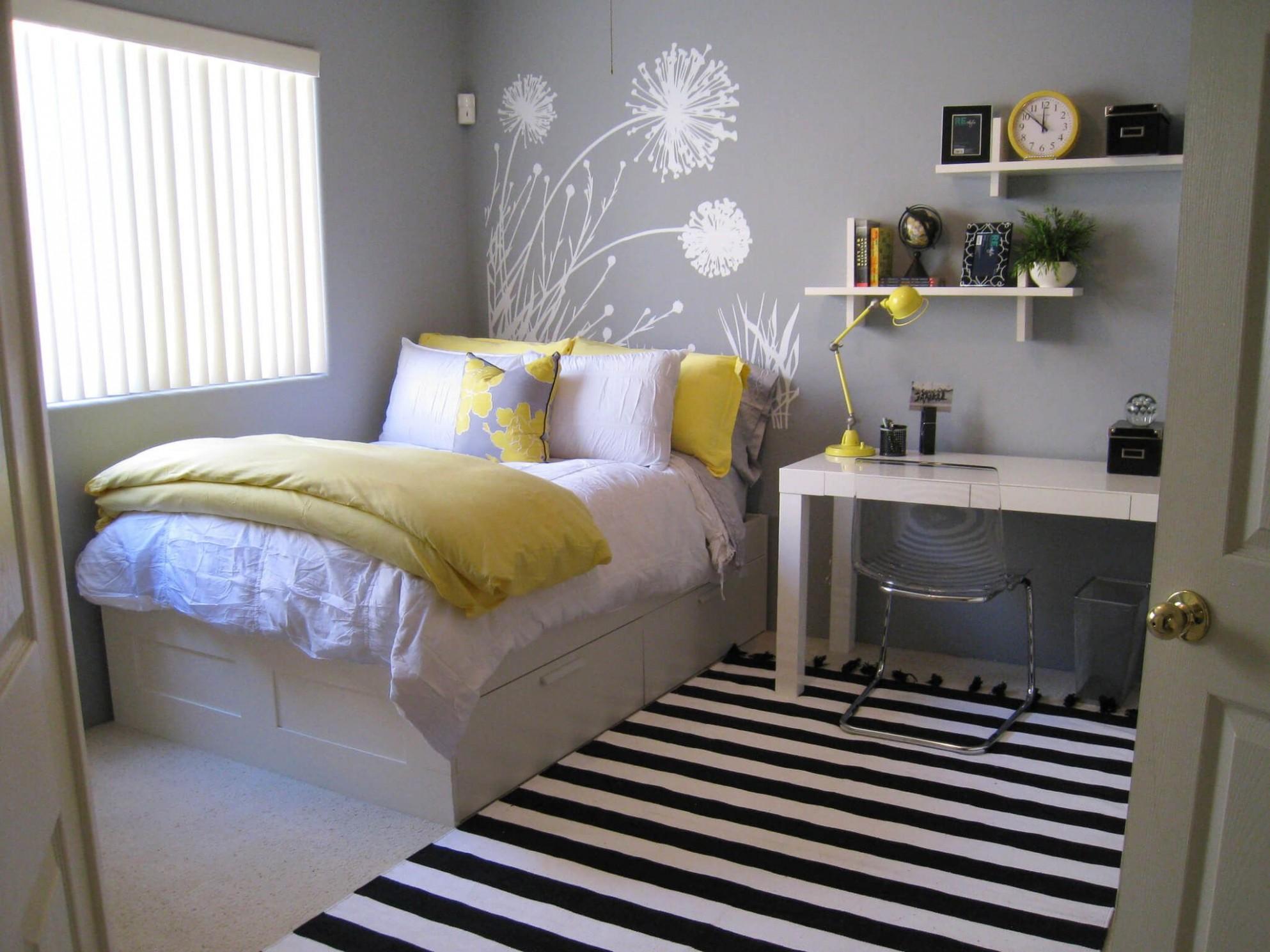Pin on guestroom - Bedroom Ideas Small Room