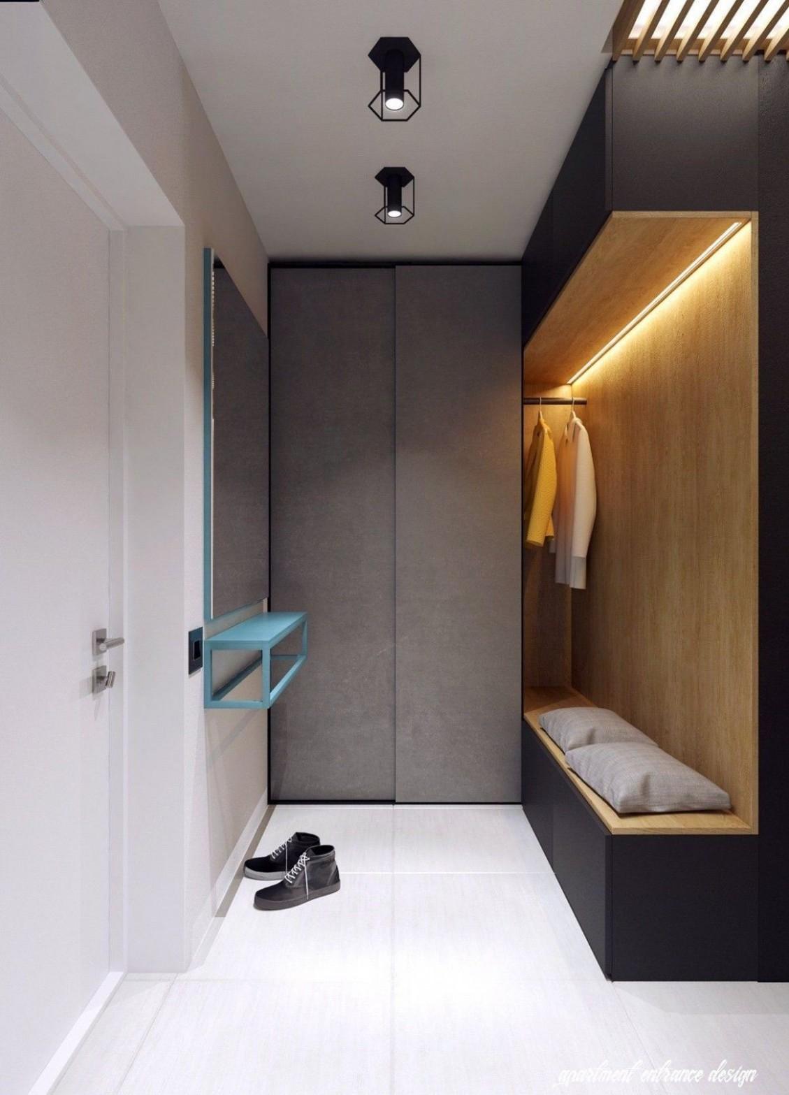 Pin on Home Plan - Apartment Entrance Design Ideas