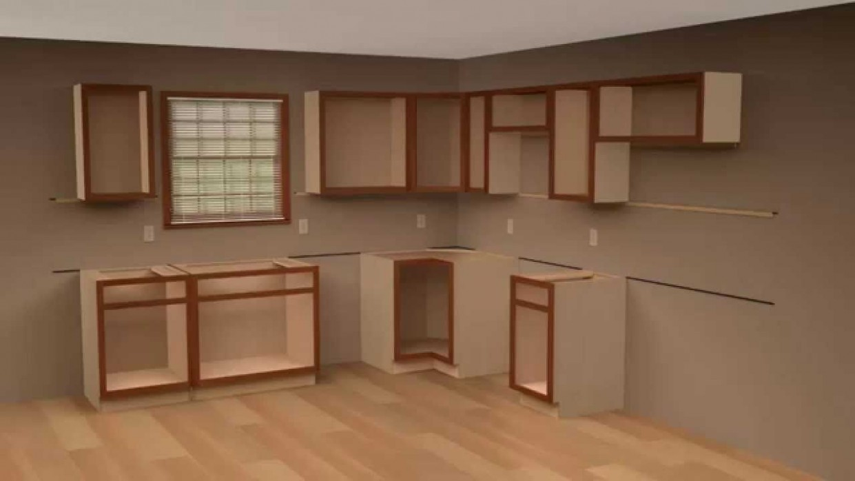 Pin on How to install kitchen cabinets - Corner Hanging Kitchen Cabinet