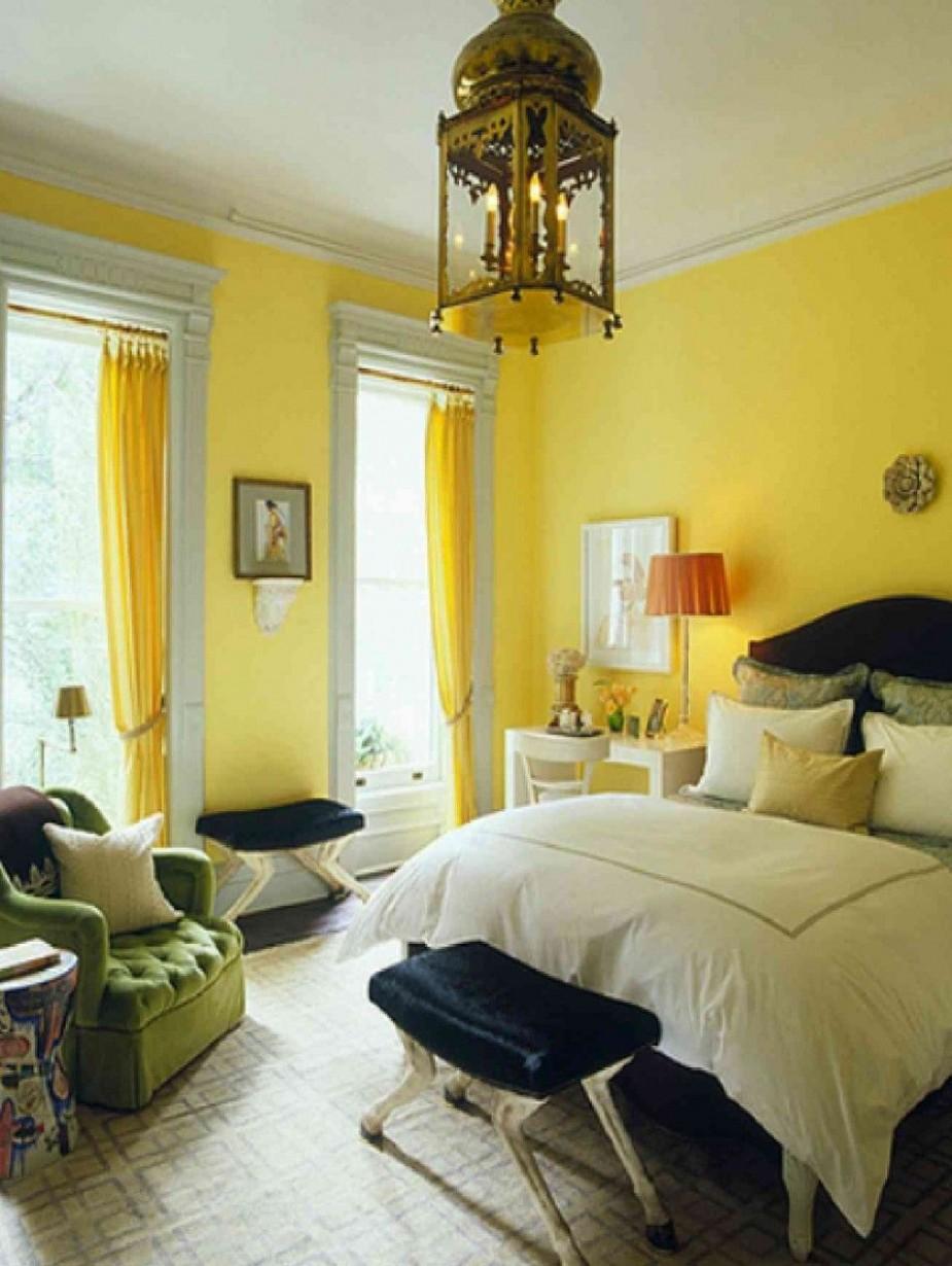 Pin on Interior - Bedroom Ideas Yellow Walls
