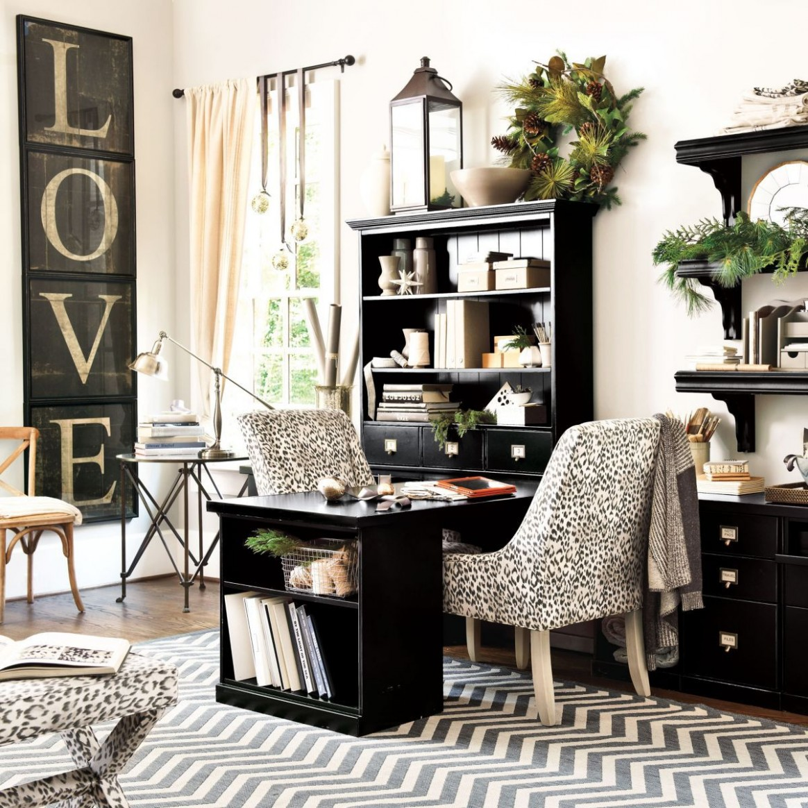 Pin on Interior Design For A Home Office - Home Office Ideas Lamp