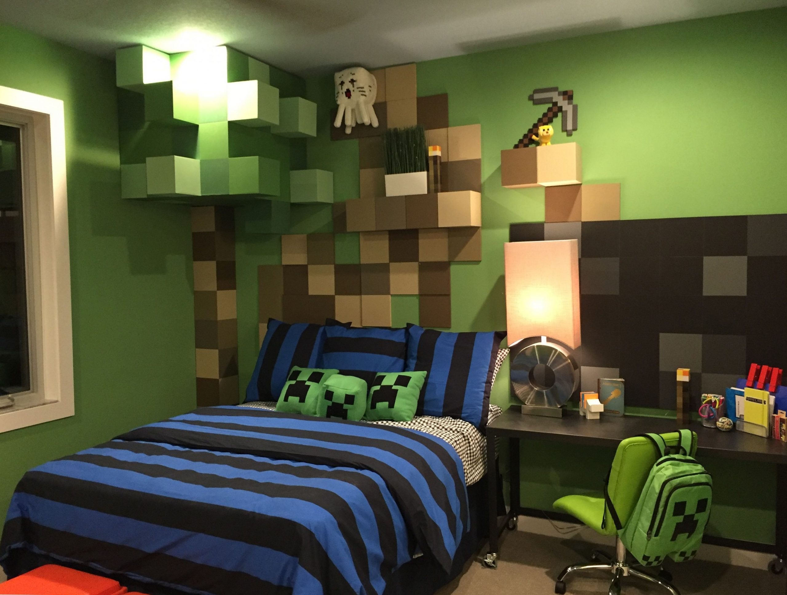 Pin on Just for Kids! - Bedroom Ideas Minecraft