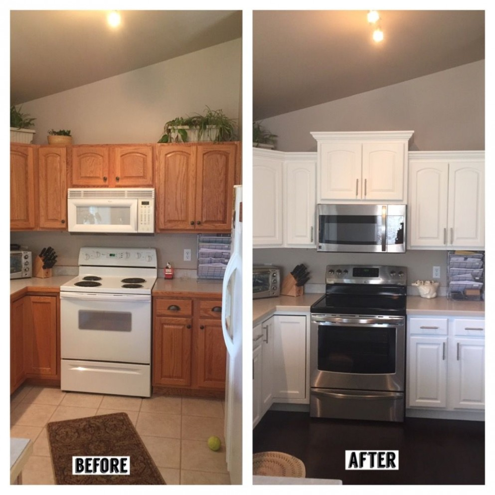 Pin on Kitchen - Simple Crown Molding On Kitchen Cabinets