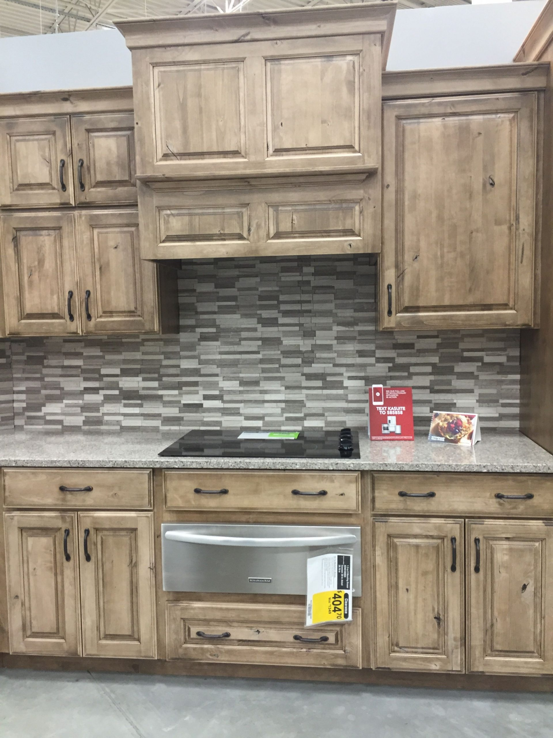 Pin on Kitchens - Lowes Cherry Wood Kitchen Cabinets