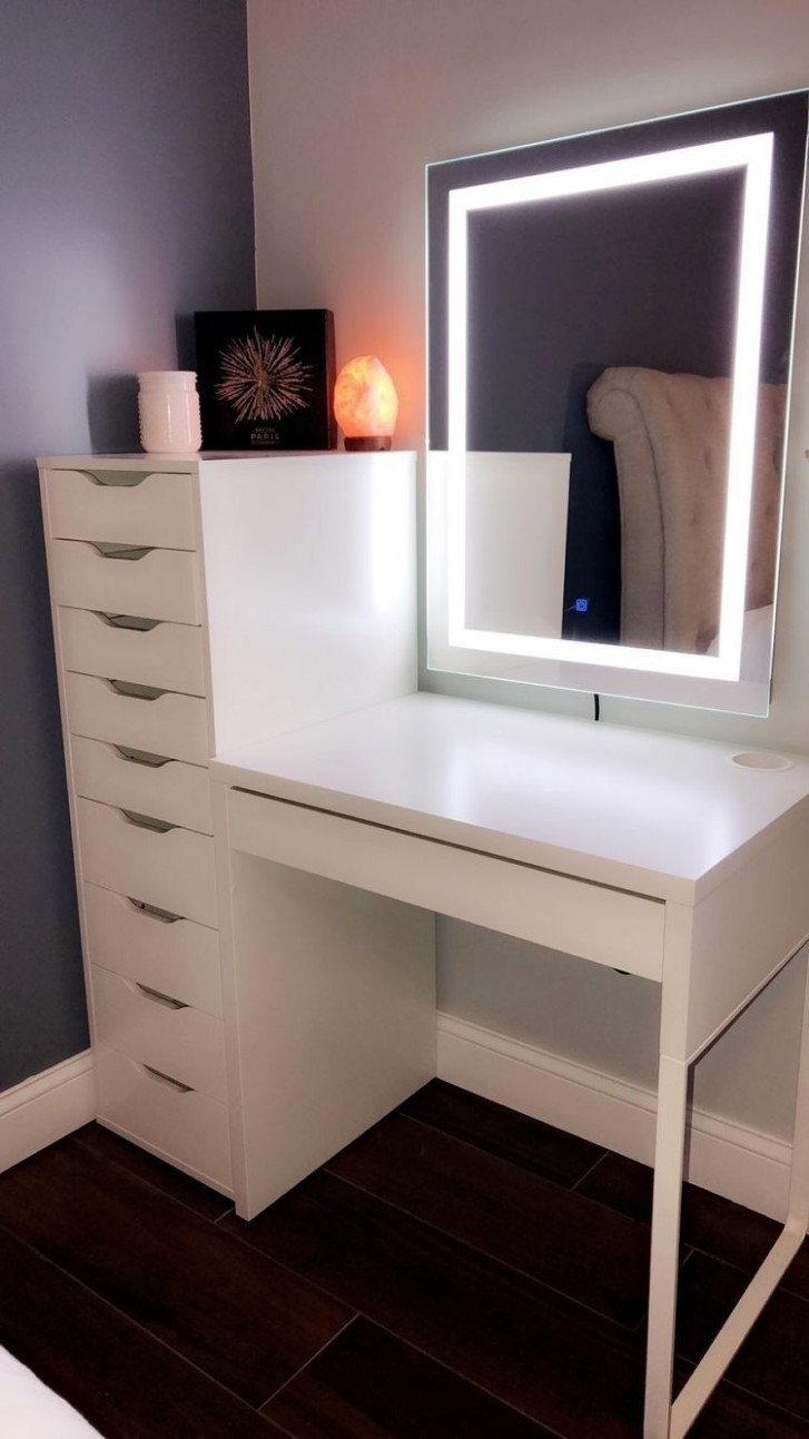 Pin on Makeup Room Ideas - Makeup Room In Bedroom