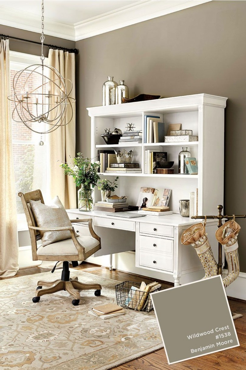 Pin on Paint Trends - Home Office Ideas Colors