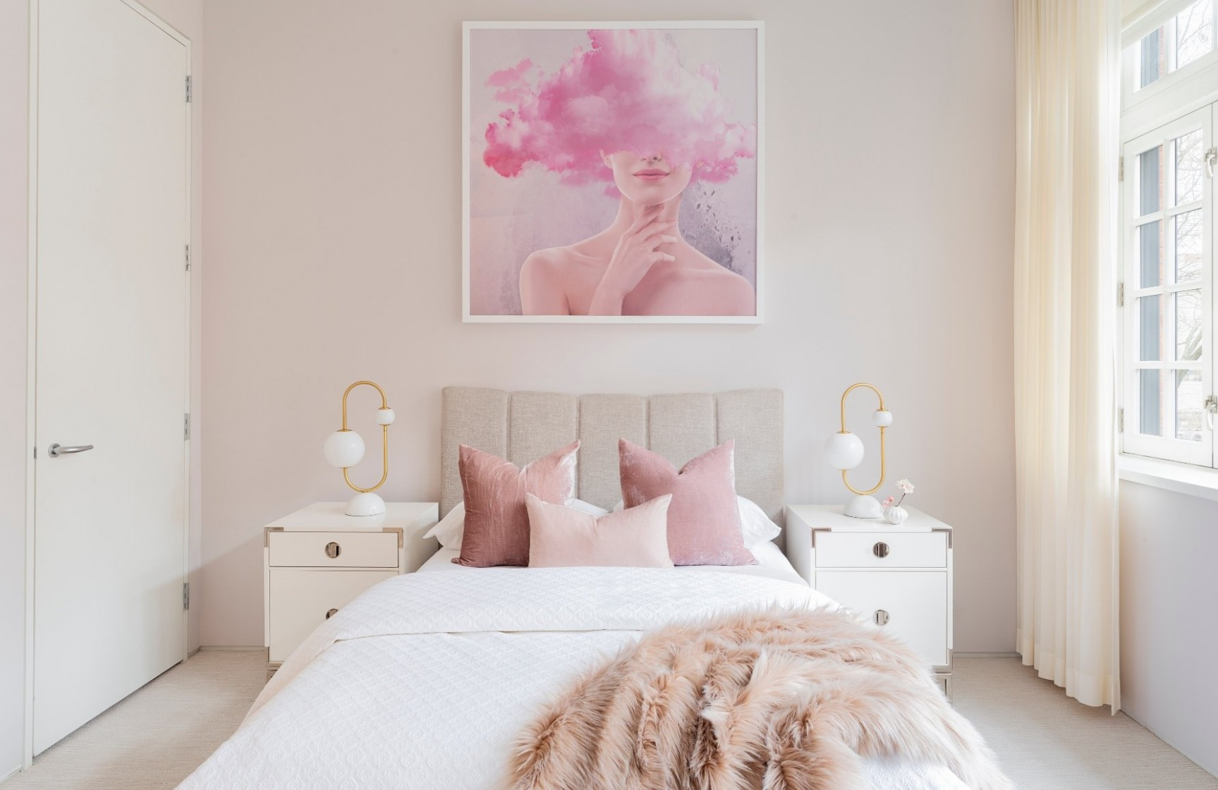 Pink Bedroom Ideas  How to Decorate a Room Pink  LuxDeco - Bedroom Ideas Pink