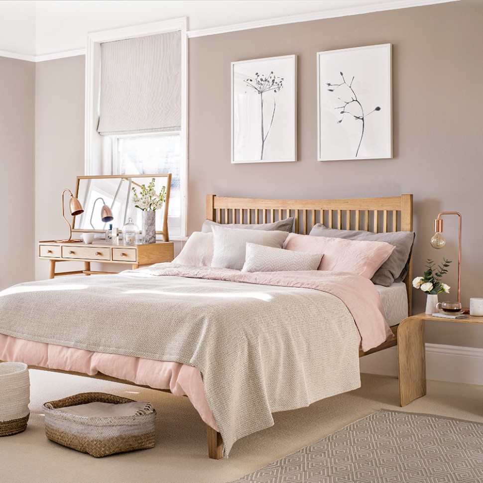 Pink bedroom ideas that can be pretty and peaceful, or punchy and  - Bedroom Ideas Grey And Pink