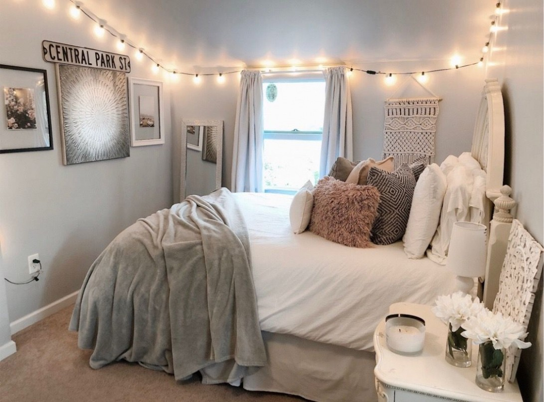 pinterest ✰ @/ eydeirrac  Cozy room, Aesthetic bedroom, Bedroom  - Bedroom Ideas Pinterest