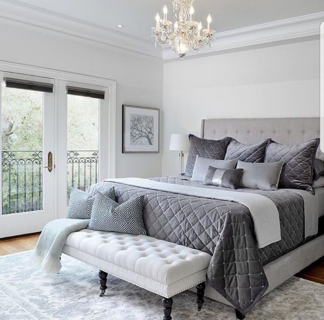Pinterest:@JordynCrimiel 💋  Simple bedroom design, Simple  - Bedroom Ideas Pinterest Grey