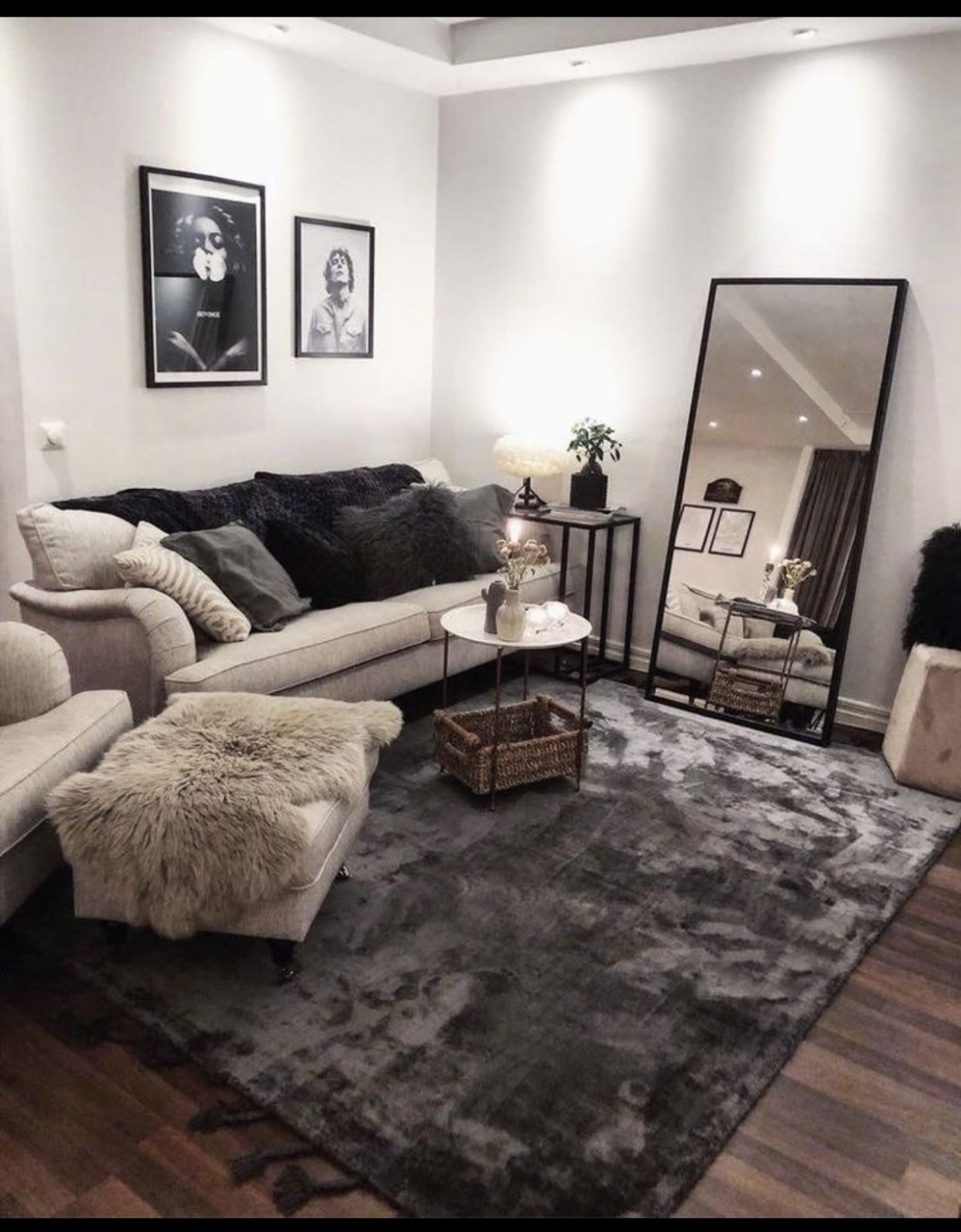 Pinterest: @Kekedanae11  Small apartment living room, Farm house  - Apartment Room Ideas Pinterest