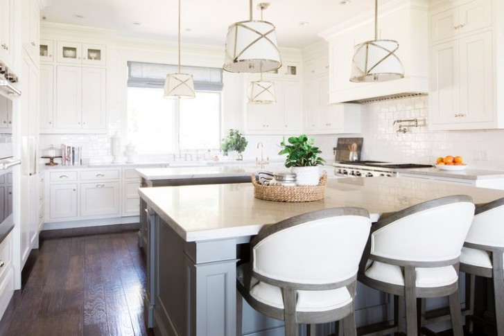 Popular Kitchen Cabinet Paint Colors - - Swiss Coffee Paint Kitchen Cabinets