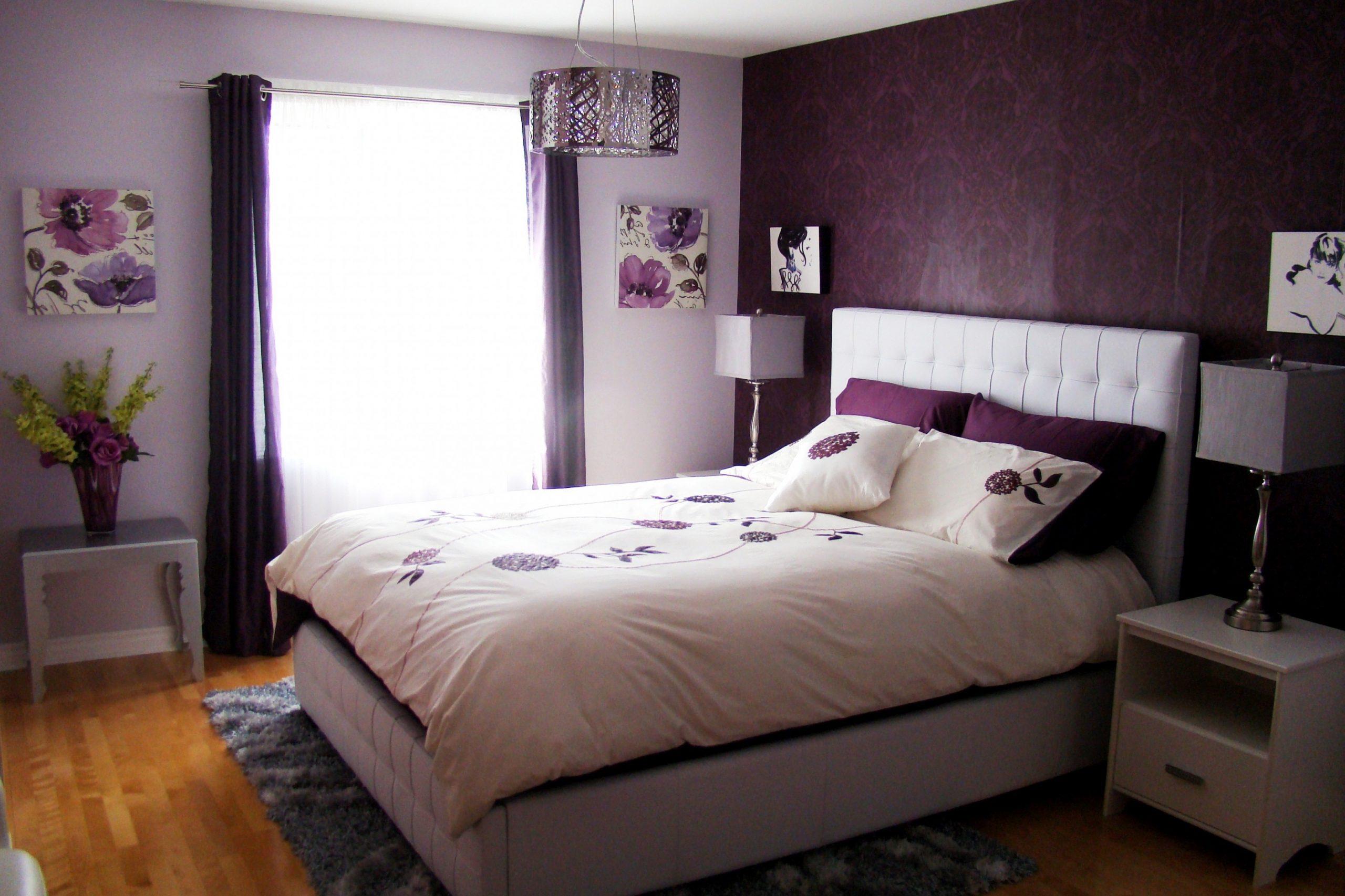 Preparing Purple Bedroom Ideas — Givdo Home Ideas - Bedroom Ideas Purple