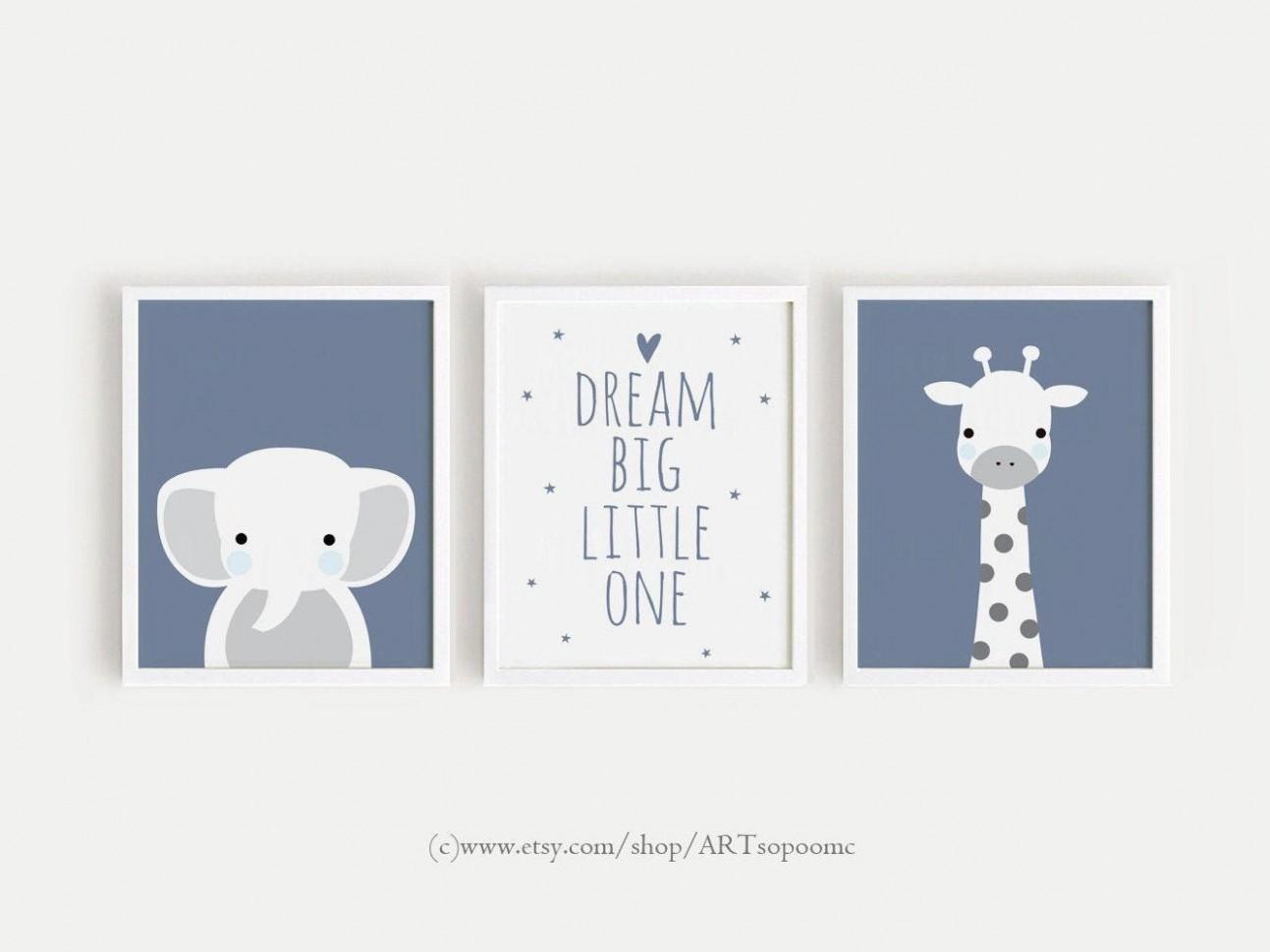 Printable Nursery Art Set of 10 Poster Baby boys room Wall art  - Baby Room Posters