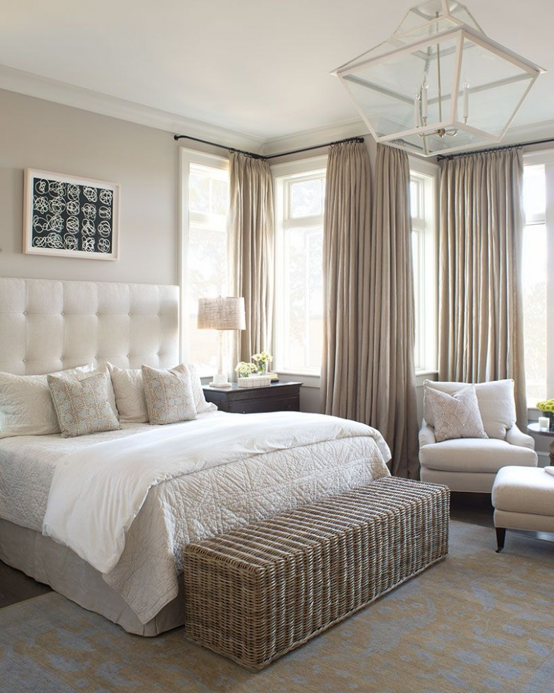 Private Residence 9  Portfolio - Wayne Windham Architect  - Bedroom Ideas Neutral Colors