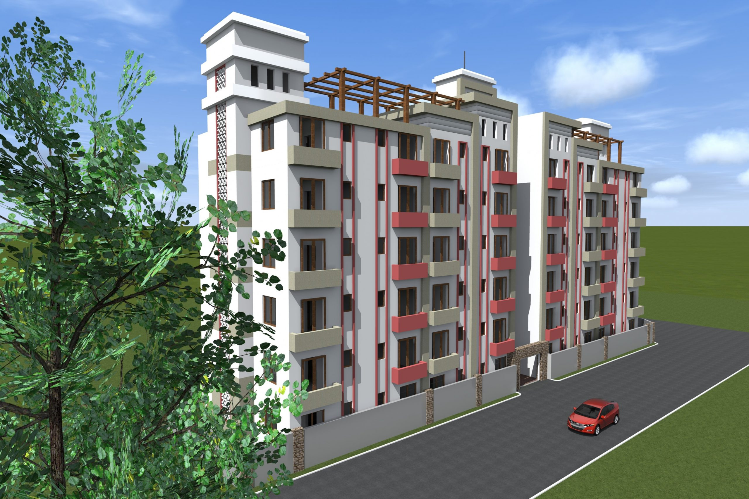 Proposed Low Cost Housing Apartments, Kitengela, Kenya - BS  - Apartment Design Kenya